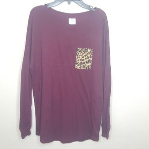 PINK Victoria's Secret Tops - 4/$25 PINK Victoria's Secret Cheetah Leopard Top E